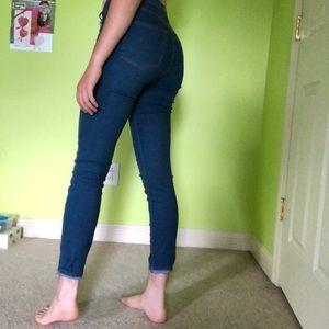 Pacsun blue skinny jeans